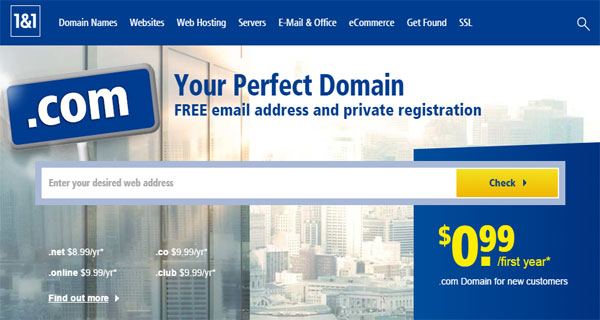 1and1 sites like namecheap